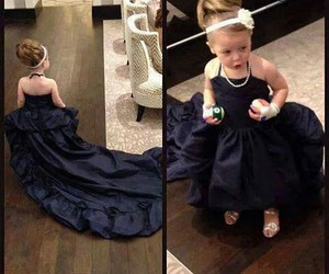 baby, fashion, and black image