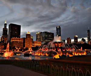 big city, photography, and chicago image