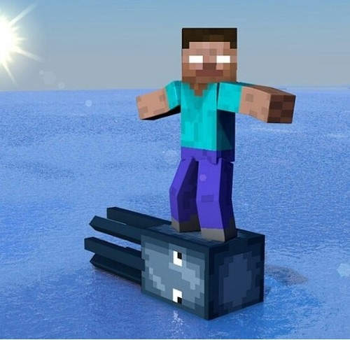 funny and minecraft image