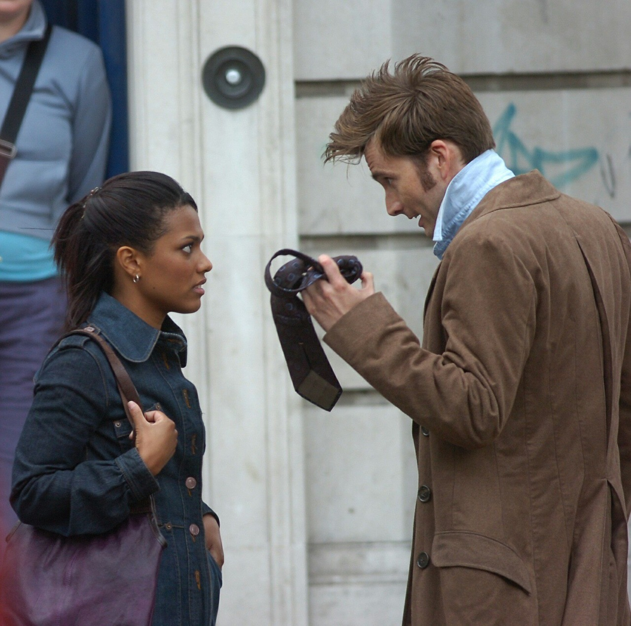 doctor who, the tenth doctor, and freema agyeman image