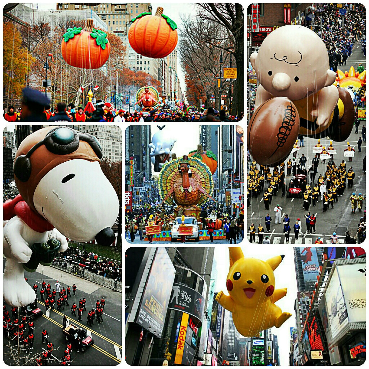 charlie brown, festive, and parade image