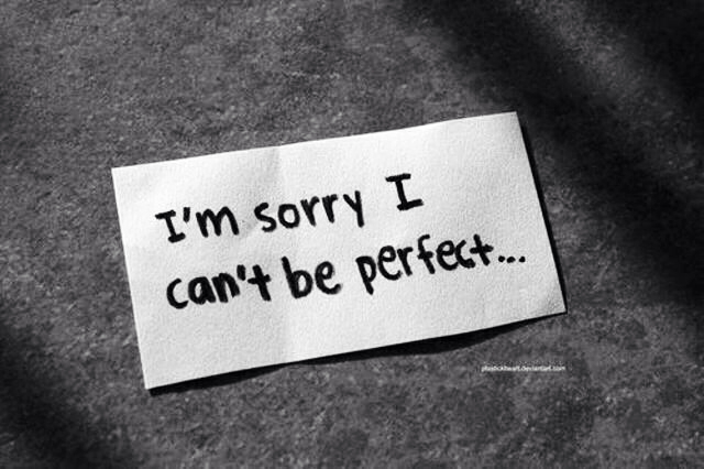 perfect, sorry, and quote image