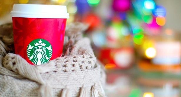 starbucks, christmas, and winter image