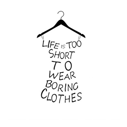 clothes, quotes, and life image