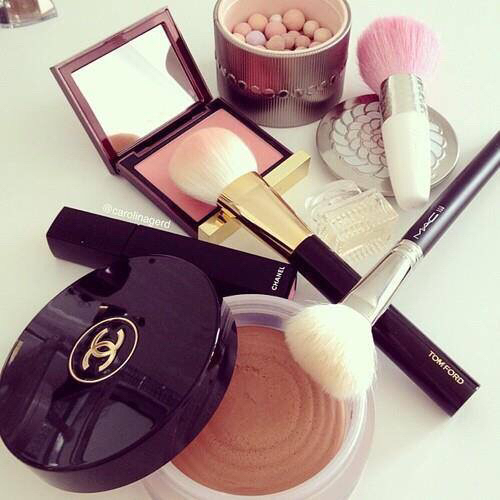 chanel, makeup, and make up image