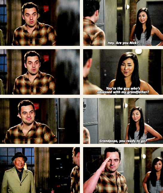 quotes, tran, and new girl image