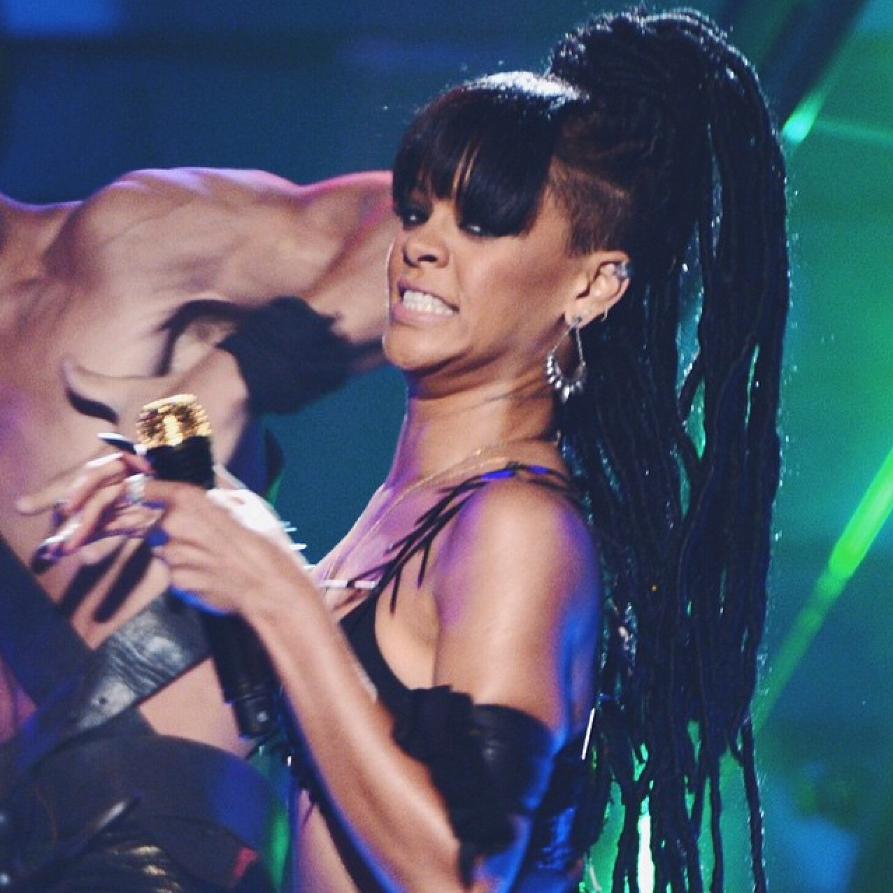 rihanna, where have you been, and whyb image