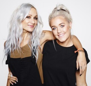 lottie tomlinson, lou teasdale, and girls image