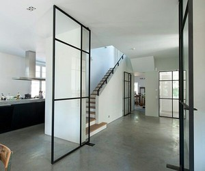basic, concrete, and doors image