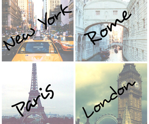 clock, travel, and love image