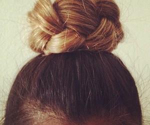 braids, bun, and comb image