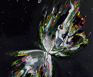 space, art, and colors image