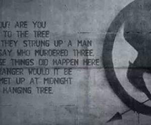 mockingjay, song, and hanging tree image