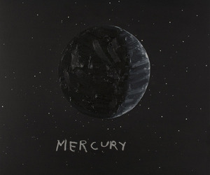 mercury, space, and art image