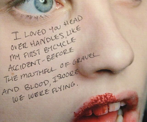 quote, blood, and love image