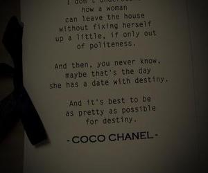 chanel, girl, and quotes image