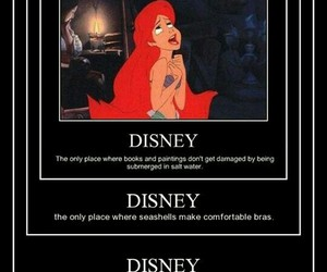 disney, ariel, and funny image