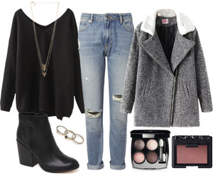 fashion, girly, and Polyvore image