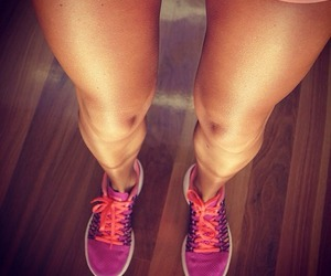 fit, legs, and fitness image