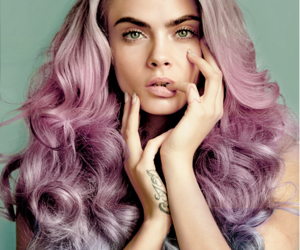 hair, hands, and model image