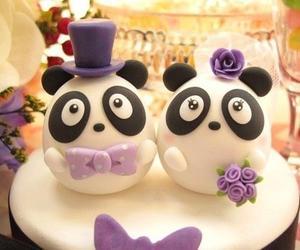 cake, panda, and cute image