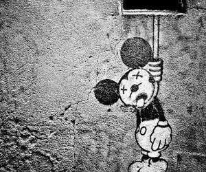 mickey, dead, and disney image