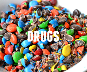 drugs and m&m image
