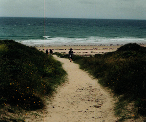 beach, indie, and nature image