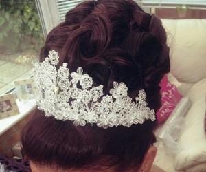 hair, wedding, and luxury image