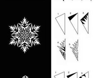 snowflakes, christmas, and Paper image