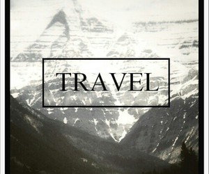 travel, mountains, and world image
