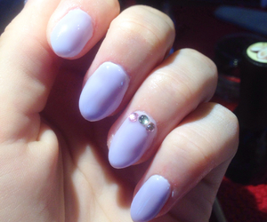 almond, nails, and love image