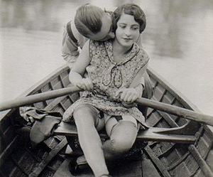 vintage and love image