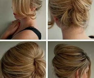 blond, hair, and diy image
