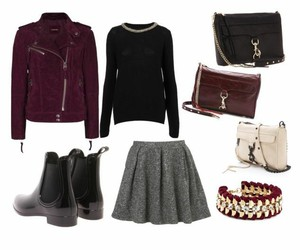 accessories, bag, and boots image