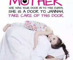 mother, child, and islam image