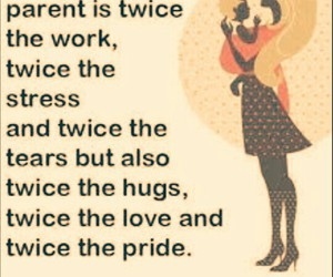 mother, single, and love image