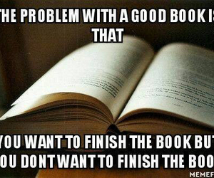 book, reading, and finish image
