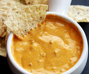 food, cheese, and nachos image