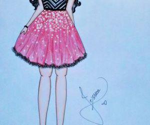 desenho, moda, and estilo image
