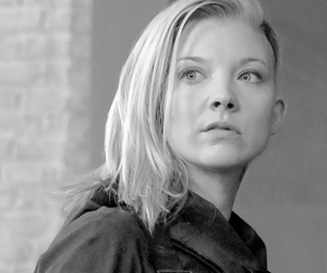 black and white, Natalie Dormer, and the hunger games image