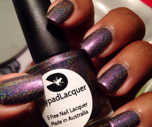 nails, manucure, and lilypadlacquer image