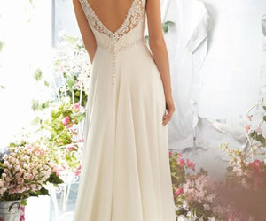 wedding dress, bridal gowns, and fashion image
