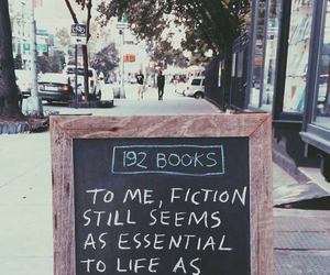 book, fiction, and life image