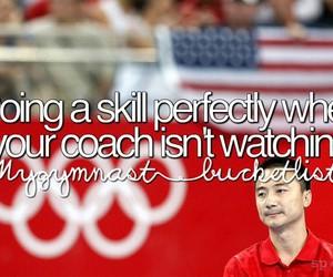 coach, gym, and gymnastics image