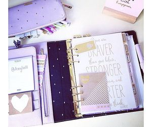 agenda, journal, and organization image