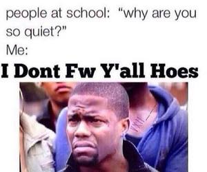funny, school, and kevin hart image