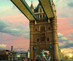 architecture, tower bridge, and city image