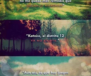 los juegos del hambre, the hunger games, and catching fire image