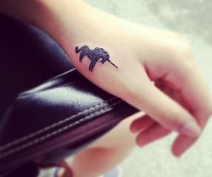 unicorn, tattoo, and tatto image